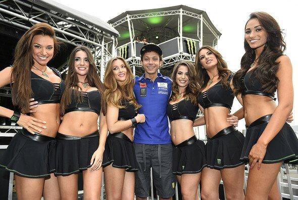 Hat Valentino Rossi auch am Sonntag Grund zur Freude?