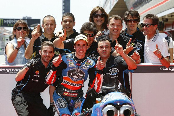 Alex Marquez konnte sich in Barcelona seine erste Pole Position sichern