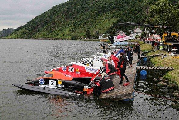 16 Boote tummelten sich in Brodenbach