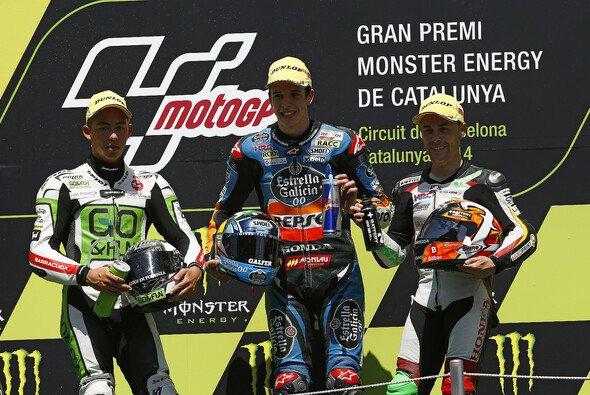 Efren Vazquez fuhr in Barcelona auf Rang drei