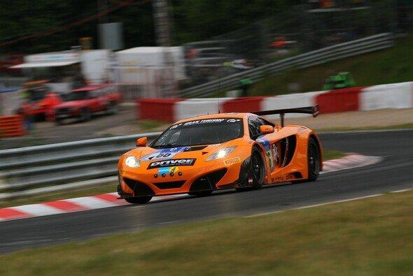 Der Dörr-McLaren konnte die Bestzeit vom Donnerstag halten