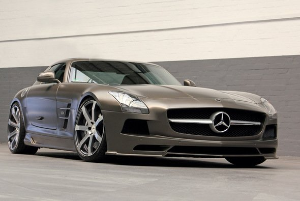 Das SLS AMG-Coupé: edel und maskulin - Foto: DD Customs