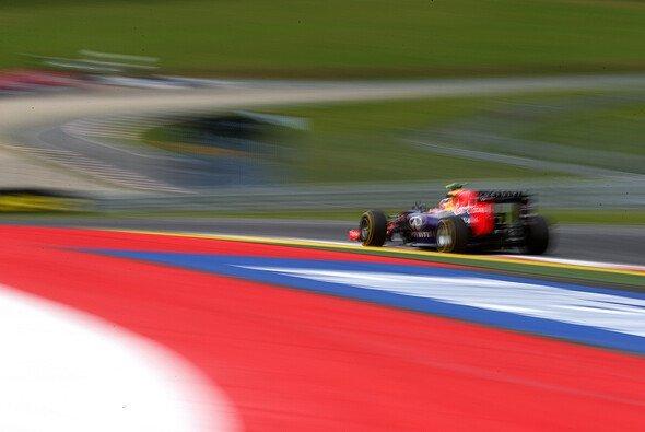 Daniel Ricciardo fuhr in den Spielberg-Trainings auf P13 und P8