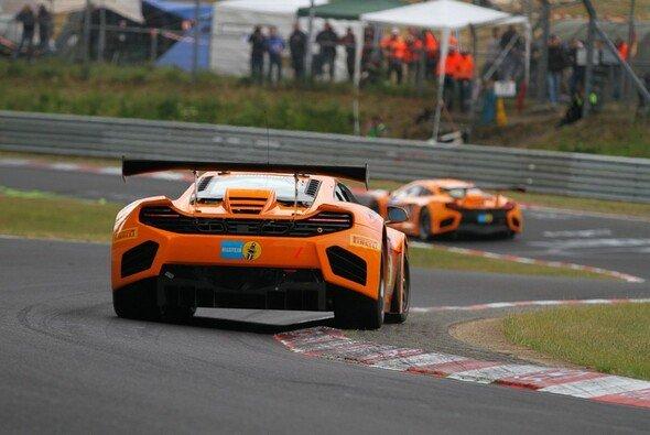 Mit viel Herz brachte Kevin Estre den McLaren MP4-12C GT3 auf die Pole Position
