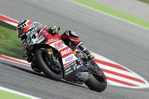 Davide Giugliano bejubelte Platz zwei fast wie eine Pole - Foto: Ducati