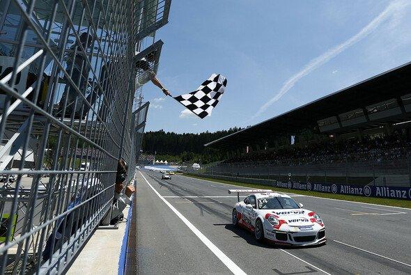 Kuba Giermaziak gewinnt das Supercup-Rennen in Österreich