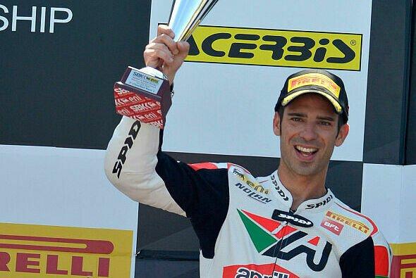Marco Melandri durfte zwei Mal als Dritter aufs Podest steigen