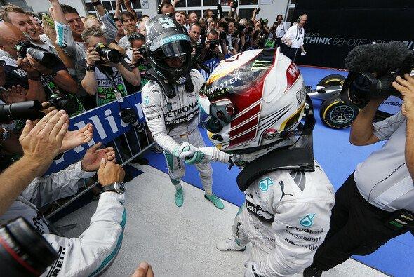 Gute Stimmung bei Mercedes nach dem Sieg in Österreich
