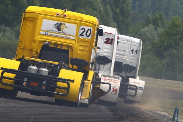 Jede Menge Action gibt es bei der Truck EM - Foto: Ellen Lohr