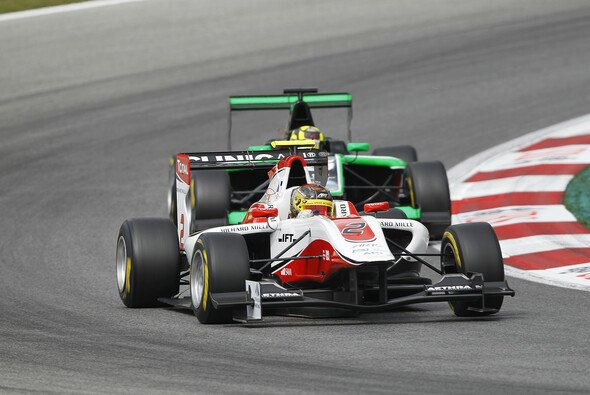 Marvin startet f�r das bekannte ART Grand Prix Team - Foto: GP3 Series