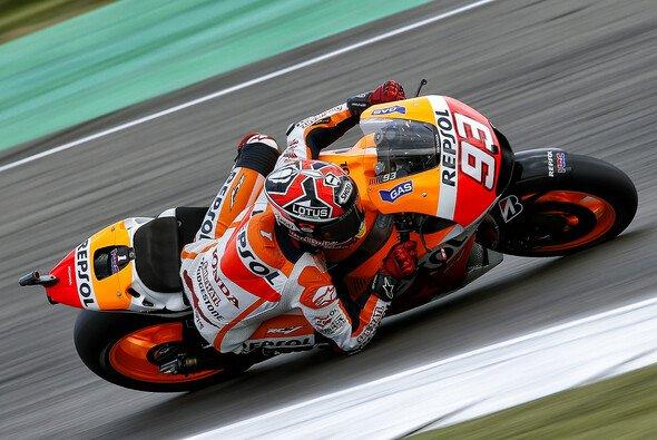 Marc Marquez hielt die Konkurrenz von Yamaha auf Distanz