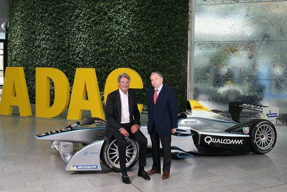 ADAC Sportpräsident Hermann Tomczyk und FIA Präsident Jean Todt