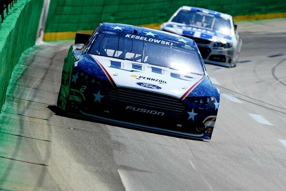 Saison-Pole Nummer drei für Brad Keselowski im Penske-Ford