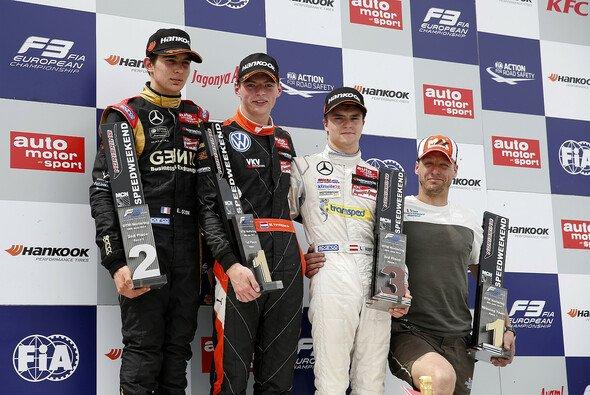 Max Verstappen holte seinen vierten Sieg in Folge