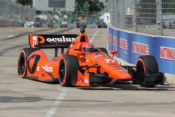 Pagenaud auf dem Weg zu seiner ersten IndyCar-Pole
