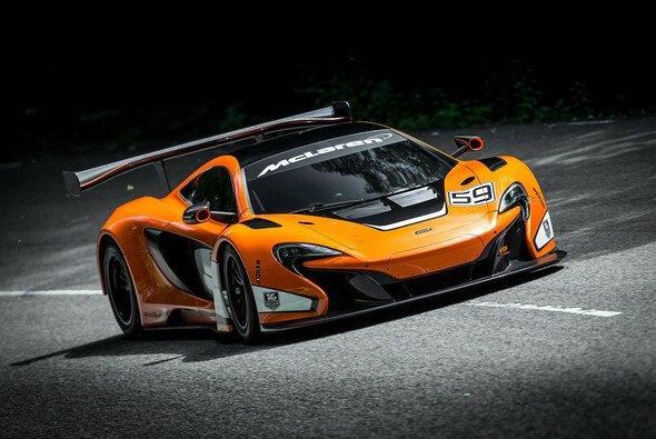 McLaren zeigt den 650S GT3 für 2015