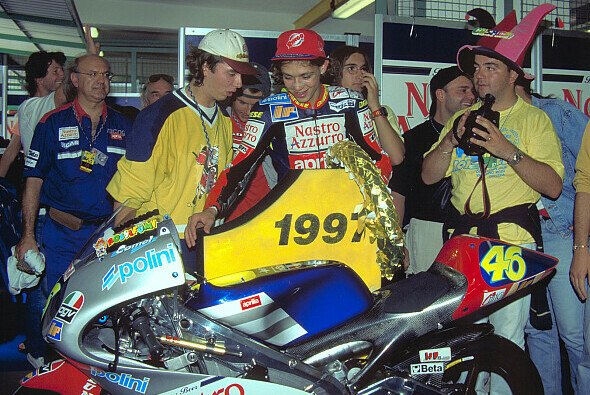 1997 wurde Rossi selbst 125ccm-Weltmeister - Foto: Milagro