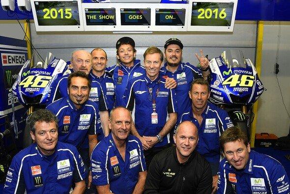 The Show goes on: Valentino Rossi verlängerte seinen Yamaha-Vertrag um zwei Jahre