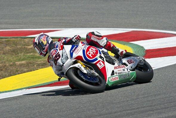 Jonathan Rea sicherte sich einen Platz in der ersten Startreihe - Foto: Honda