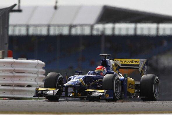 Felipe Nasr feierte seinen dritten GP2-Erfolg