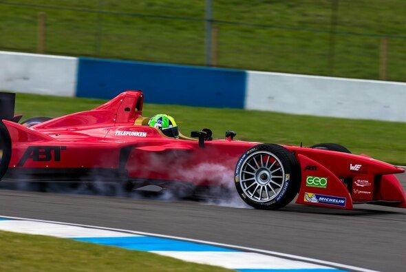 Die Formel E testet in Donington