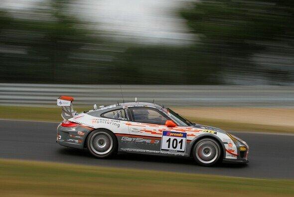 Christopher Mies startete für GetSpeed im Porsche