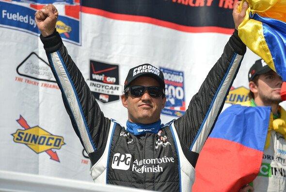 Juan Pablo Montoya darf sich wieder als Sieger feiern lassen