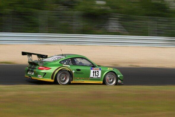 Der Porsche von Kappeler Motorsport fiel vorzeitig aus
