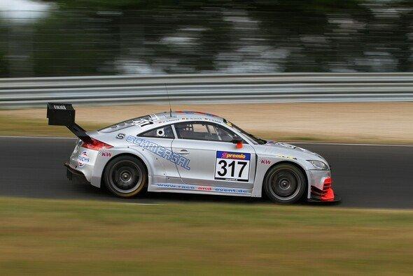 Der Audi TT feierte ein gutes VLN-Ergebnis