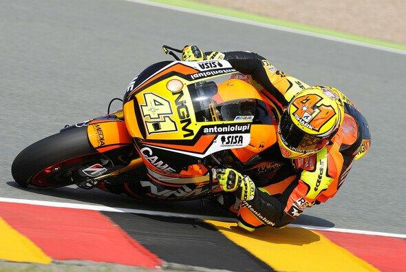 Aleix Espargaro sicherte sich mit einem behrzten Auftritt Platz sechs beim Deutschland GP