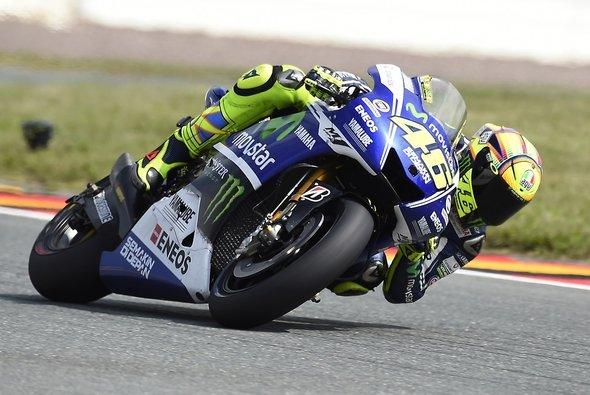 Nach Rang drei im ersten Training lief bei Rossi nicht mehr viel zusammen