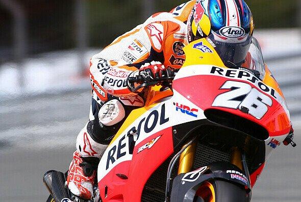 Dani Pedrosa zauberte seine Honda am Sachsring auf Startplatz zwei