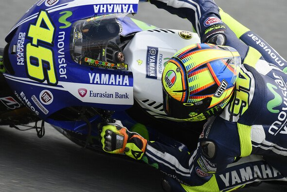 Valentino Rossi geht am Sachsenring von Startplatz sechs ins Rennen
