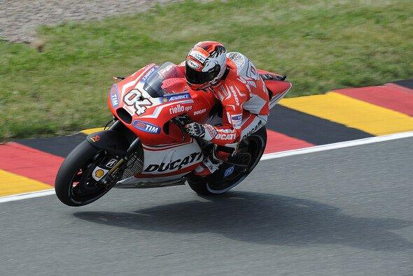 Andrea Dovizioso und das Ducati-Team waren im Qualifying chancenlos