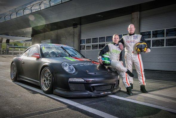 Die beiden Gentleman Driver Daniel Uckermann und Jürgen Daum gehen auch bei den 24h von Barcelona an den Start