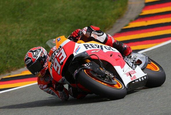 Marc Marquez behielt auch im Chaos am Sachsenring die Nerven - Foto: Honda