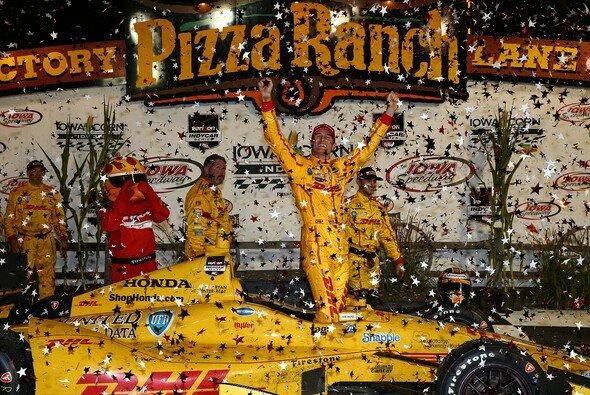 Ryan Hunter-Reay war nur aus Reihe sieben gestartet - Foto: IndyCar
