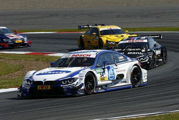 Maxime Martin fuhr im fünften Rennen seinen ersten Sieg ein - Foto: DTM