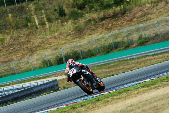 Marc Marquez testete erstmals die neue MotoGP-Honda