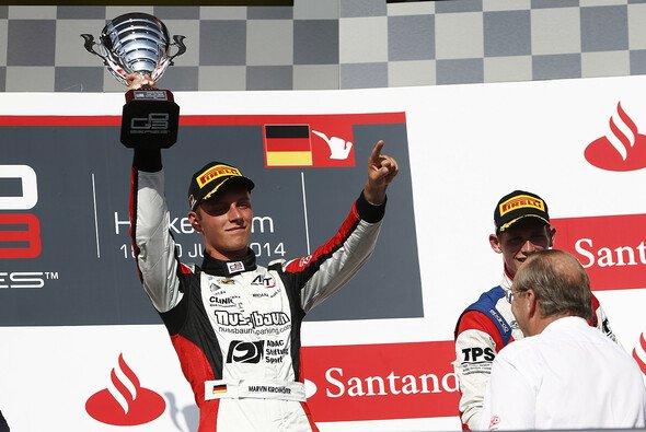 Marvin Kirchhöfer gewann das erste Rennen der GP3 in Hockenheim - Foto: GP3 Series