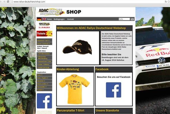 Fanartikel der ADAC Rallye Deutschland jetzt im Webshop erhältlich