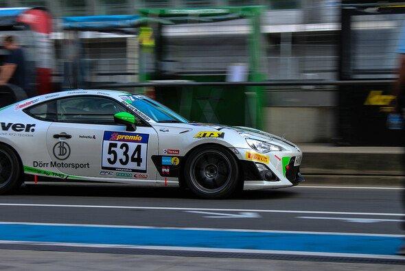 Dörr Motorsport holte den zweiten Platz im Toyota GT86