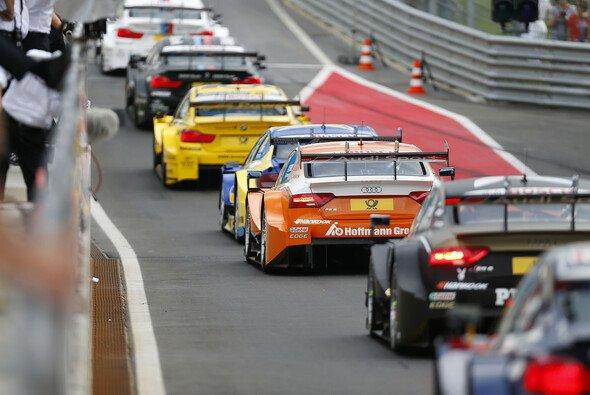 In der DTM soll es künftig wieder mehr Racing geben - auch in der Box