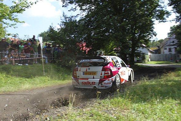 Matthias Kahle und Christian Doerr gehen in einem Skoda Fabia WRC an den Start - Foto: PR Kahle Motorsport