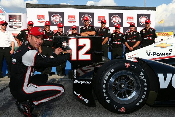 Will Power steht auf Pole Position
