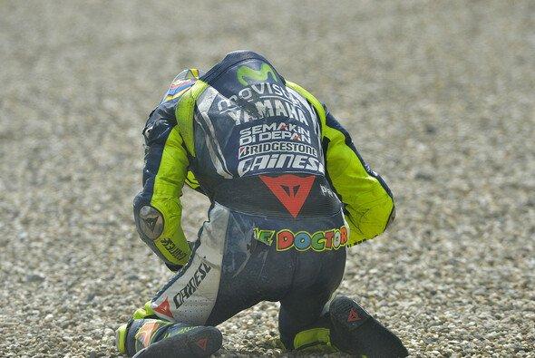 Valentino Rossi ist beim Motocross-Training schwer gestürzt - Foto: Milagro