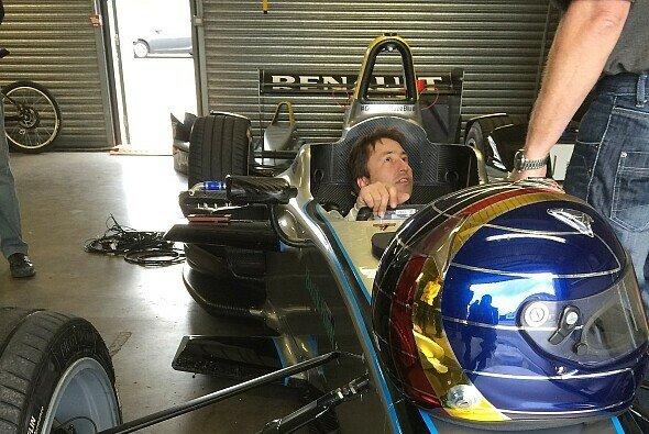 Heinz-Harald Frentzen feiert Kurzzeit-Comeback im Formelauto - Foto: emotional engineering