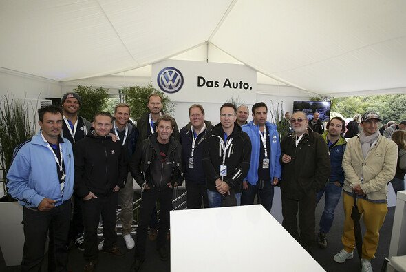 Prominenten-Treff bei der ADAC Rallye Deutschland - Foto: ADAC Rallye Deutschland