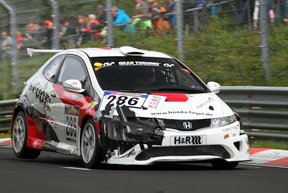 Beim vergangenen VLN-Rennen sammelten Monteiro und Tarquini erste Erfahrung im Honda von Fugel Sport - Foto: Patrick Funk