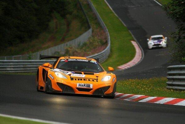 Der Dörr-McLaren verunfallte heftig - Foto: Patrick Funk